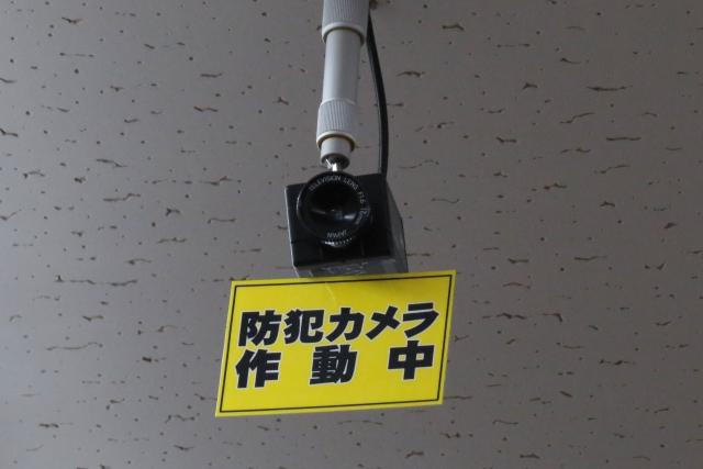 防犯カメラの設置周知
